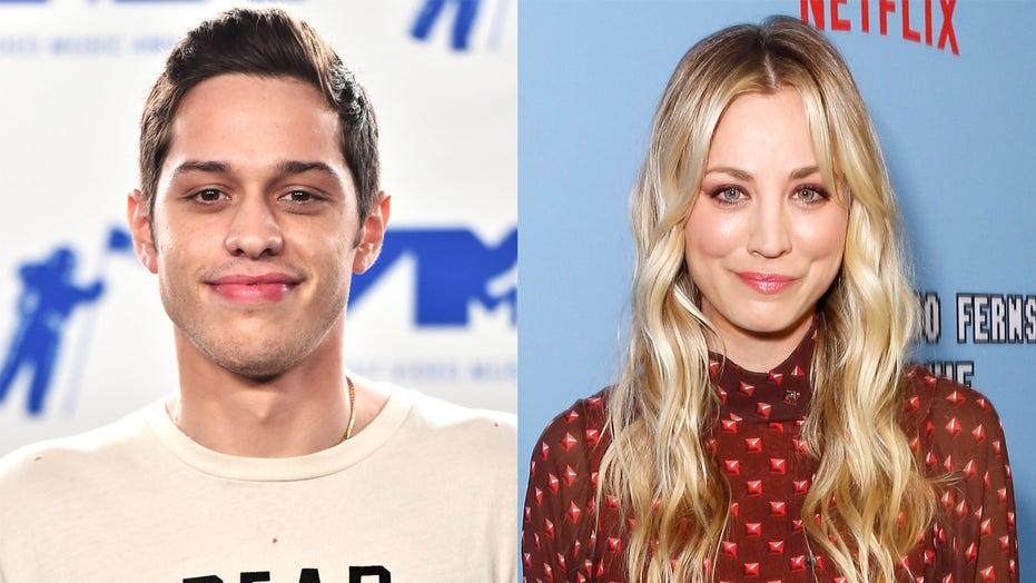 Kaley Cuoco shares how she's 'annoying' Pete Davidson on 'Meet Cute' rom-com set