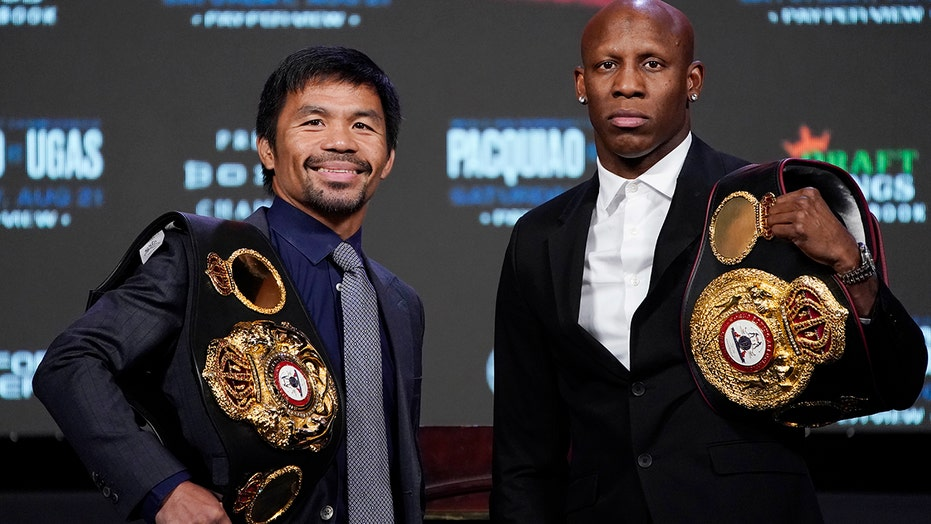 Manny Pacquiao takes on Ugás before likely presidential run