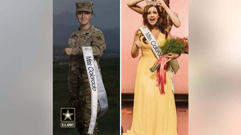 Active duty solider crownd Miss Colorado missing Iraq rotation to compete for Miss America title