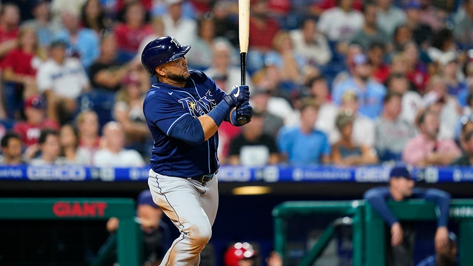 Cruz leads Rays past Phillies with bat and, yes, mitt