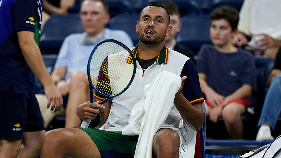 Nick Kyrgios throws tantrum at US Open over towels: 'It's just absurd for me'