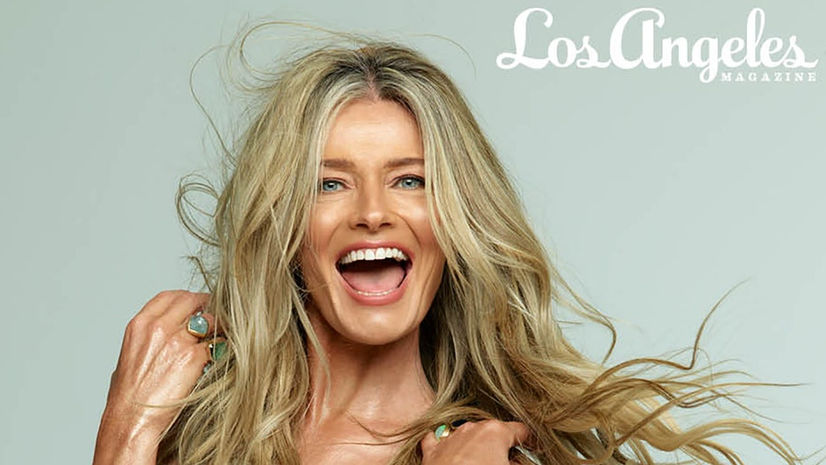 Paulina Porizkova shares 'unretouched' picture of herself posing nude for magazine shoot