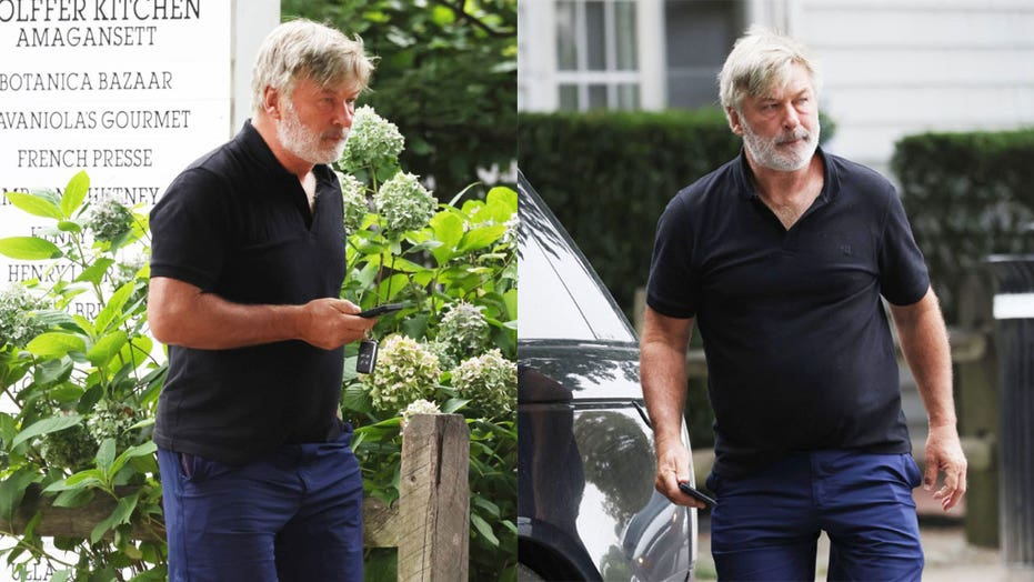 Alec Baldwin looks disheveled while stepping out in New York after calling Cuomo's resignation 'tragic'