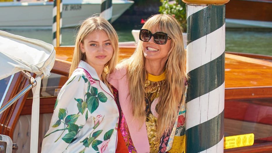Heidi Klum's daughter Leni is a spitting image of model as they are spotted out and about