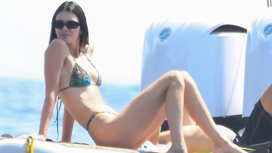 Kendall Jenner soaks up some sun while showing off bikini body on Italian vacation