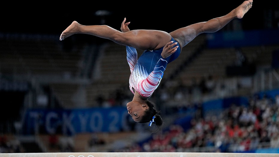 Simone Biles on bronze medal victory: 'I was just happy to be able to perform'