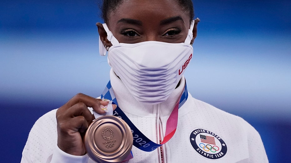 Simone Biles on winning bronze medal: 'It means more than all the golds'