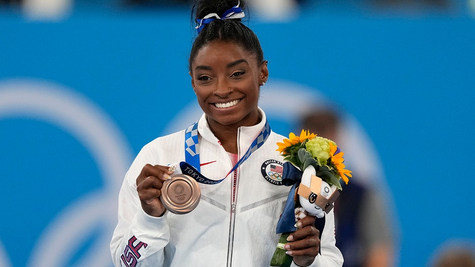 Simone Biles grateful for being able to use 'secret' Japan gym to keep skills sharp during break