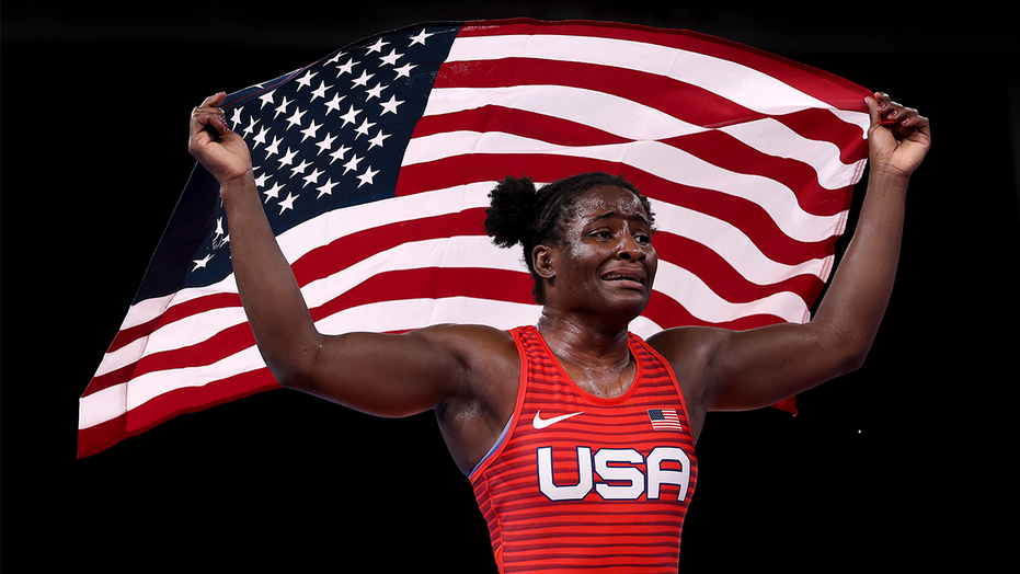 Olympic gold medalist Tamyra Mensah-Stock on representing Team USA: 'This is where I was born and raised'
