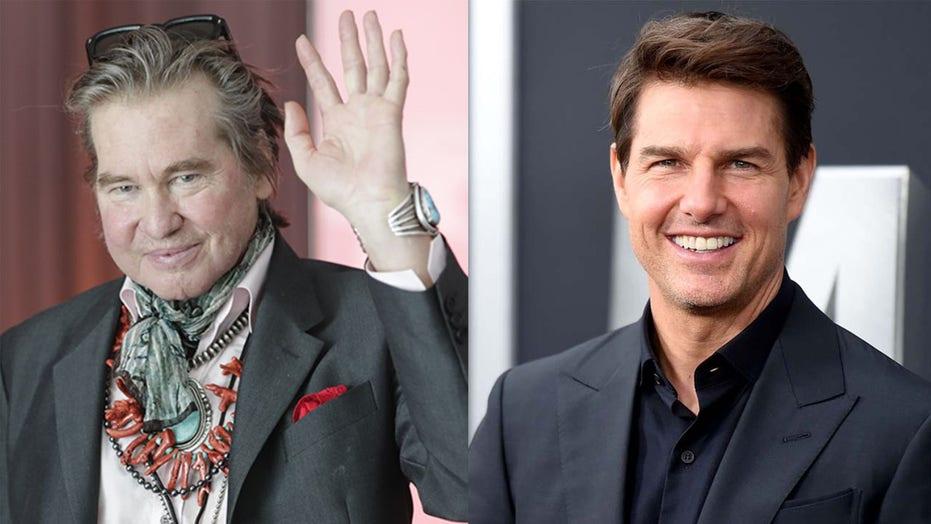 Tom Cruise 'was really adamant' Val Kilmer appear in 'Top Gun: Maverick'