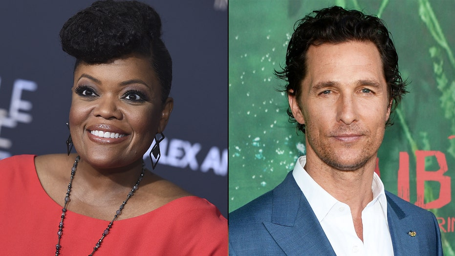 Yvette Nicole Brown says Matthew McConaughey smells like 'good living' after he said he doesn't wear deodorant