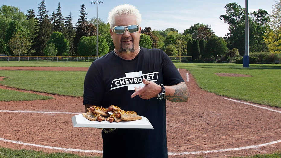 Guy Fieri invents Apple Pie Hot Dog with Chevrolet for MLB's Field of Dreams game