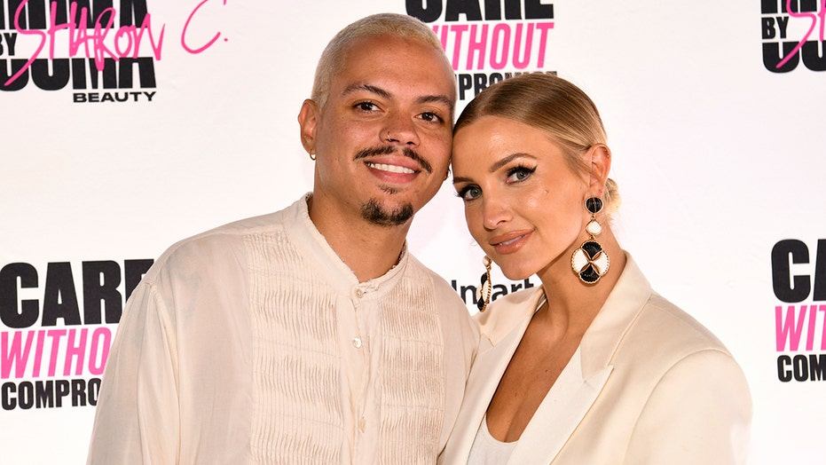 Ashlee Simpson shares nude photo of husband Evan Ross to celebrate his birthday