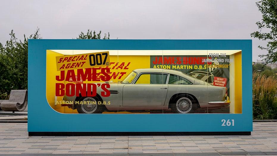 Aston Martin reveals $3.5 million full-size James Bond 007 Corgi 'toy' car