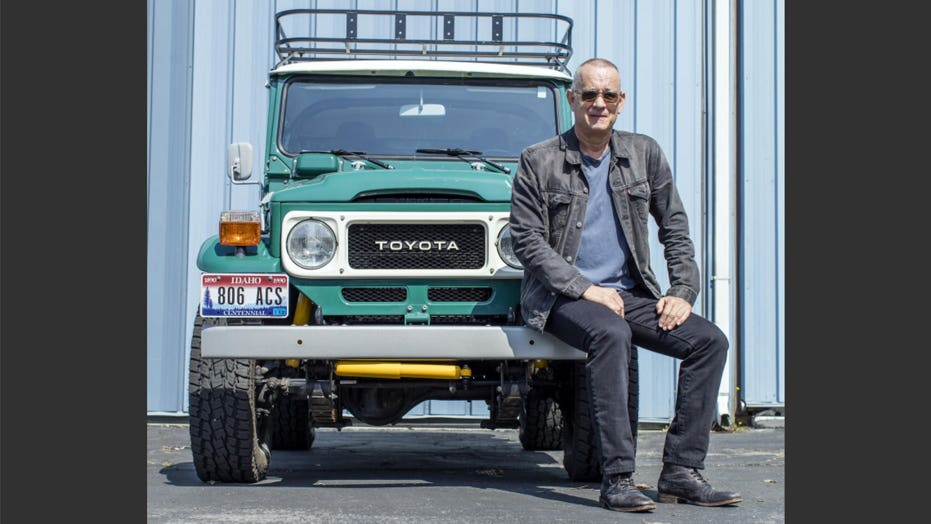 Tom Hanks just made $  358K selling his old truck and trailer