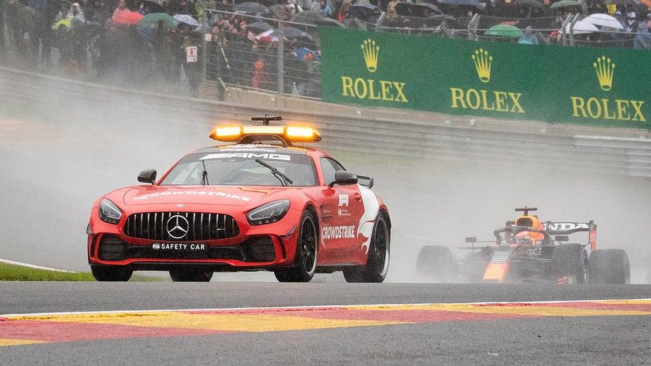 Formula One: Max Verstappen wins 4-lap Belgian Grand Prix