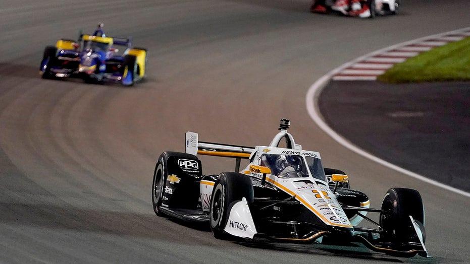 Josef Newgarden wins wild Gateway IndyCar race by .5397 sec