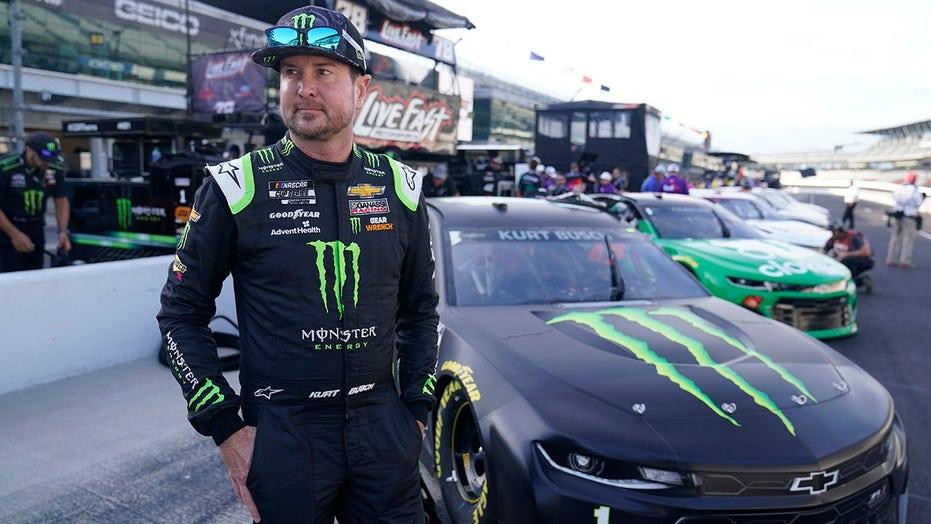 Kurt Busch signs with Michael Jordan and Denny Hamlin's 23XI Racing NASCAR team for 2022