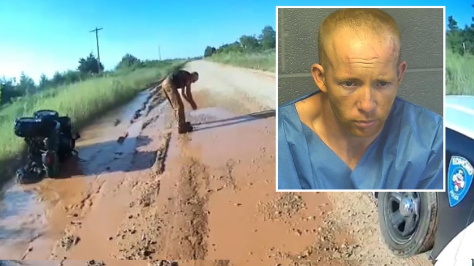 Handcuffed Oklahoma man escapes arrest on stolen ATV, leads police on high-speed chase