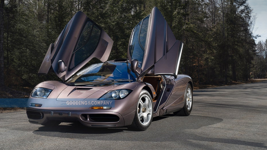 A 1995 McLaren F1 supercar just sold for a record $20 million