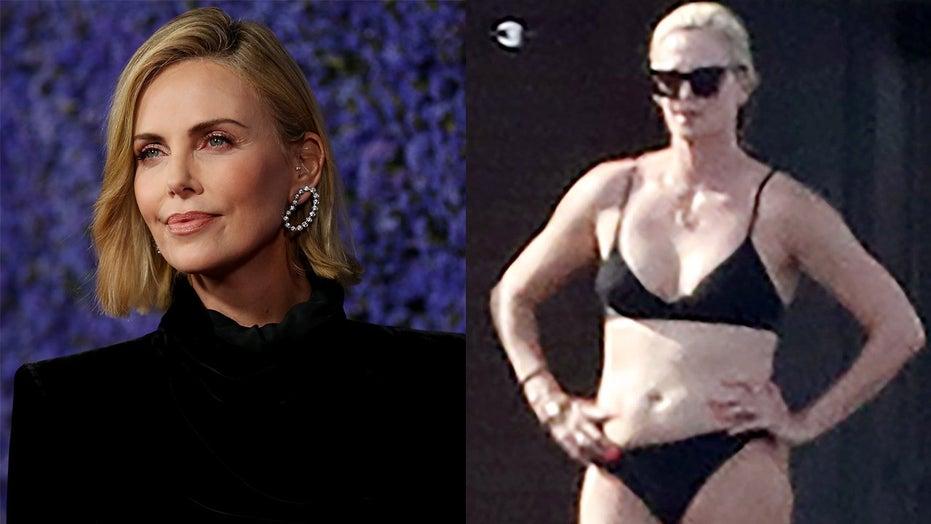 Theron bikini charlize Charlize Theron