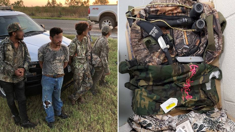 Illegal migrants wearing camo steal knives from Texas ranch house, attempt to evade arrest: Border Patrol