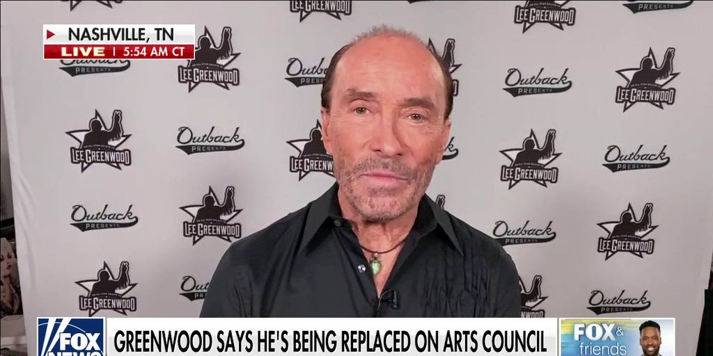 Lee Greenwood 'shocked' for being replaced on arts council by Biden administration