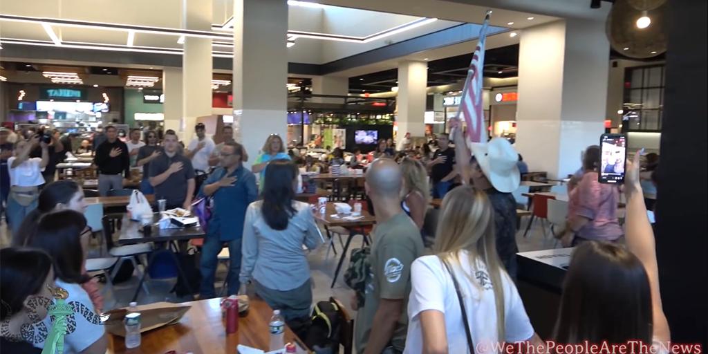 New York City anti-vaccine mandate protesters storm mall food court: 'My body, my choice' - Fox News