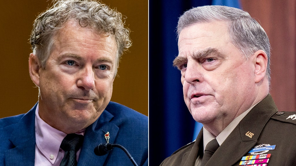Sen. Paul demands investigation of Milley over report he colluded with China
