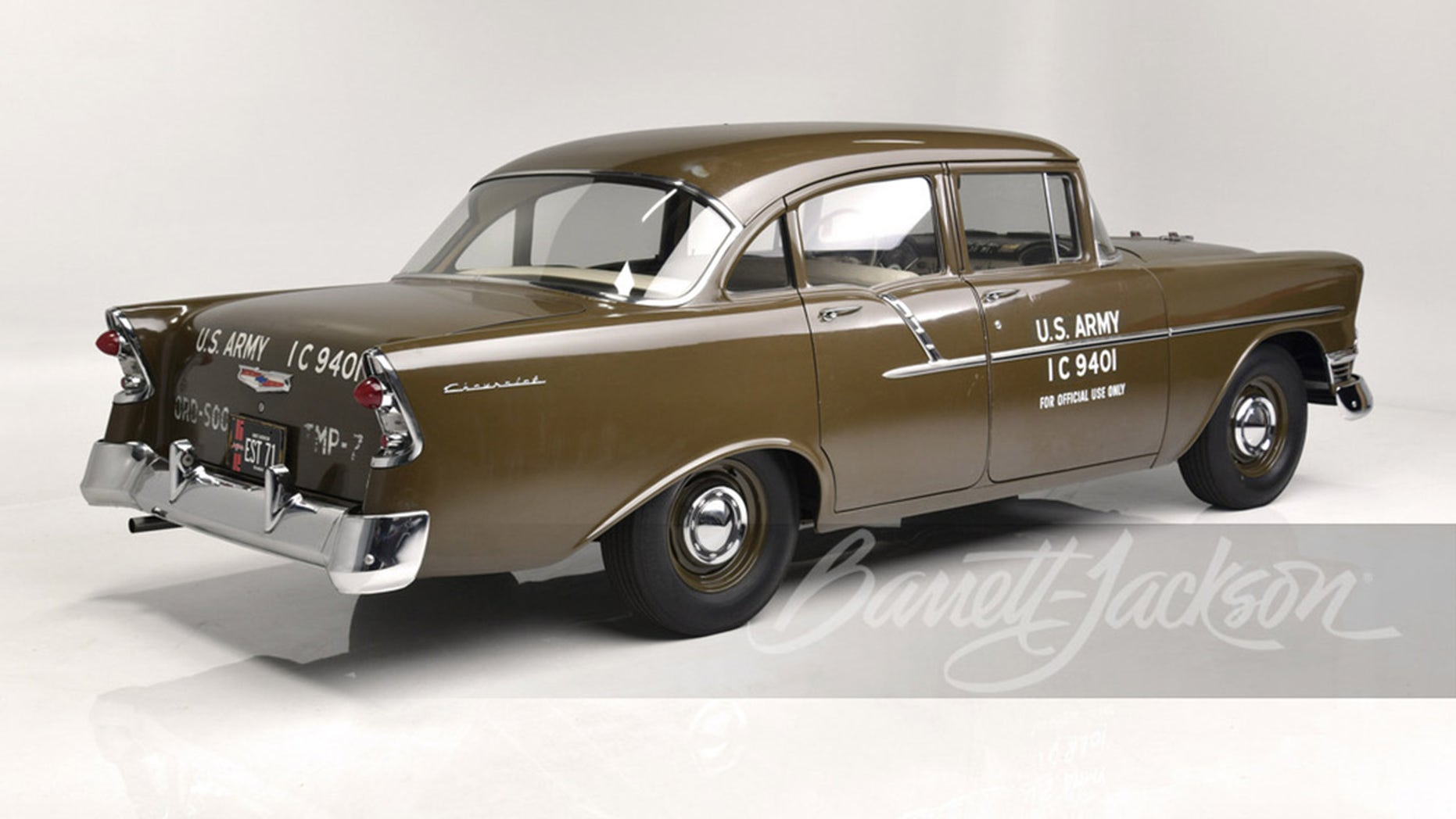 US Army 1956 Chevy