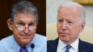 Biden doubles down on $3.5 trillion plan that Manchin, moderate Dems oppose: 'Not about short term stimulus'