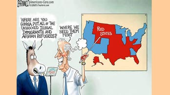 Political cartoon of the day: Master plan