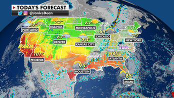 Rain, flooding potential across East as wind increases western wildfire threats