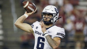 Bonner's late TD pass lifts Utah St. over Washington St.