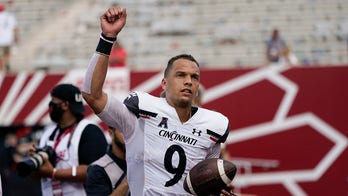 No. 8 Bearcats take big step, next one looms at Notre Dame