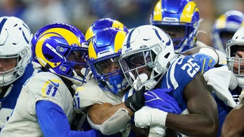 Rams' Kenny Young ejected for making contact with official during heated exchange vs Colts