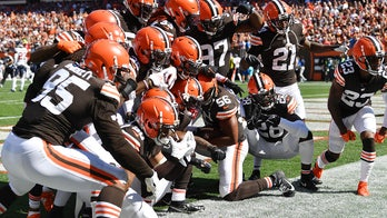 Browns fans beat up each other before home opener