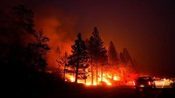 California's Caldor Fire threatening Lake Tahoe calms down significantly