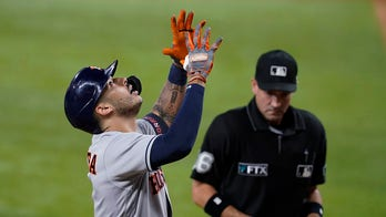 Correa HR triggers 7-run 4th, Astros roll past Rangers 12-1