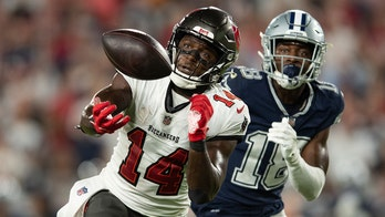 Bucs' Chris Godwin appears to get away with pass interference on game-winning drive: 'Bailed out again'