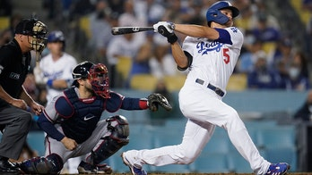 Seager, Dodgers beat Braves 3-2; Albies' foul injures knee