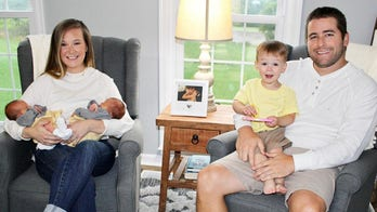 Twin gives birth to identical twin girls at same hospital where she and her sister were born