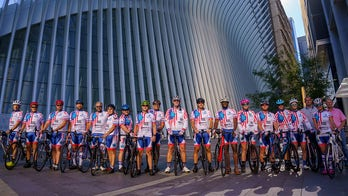 9/11 first responders cycling from New York to Virginia for suicide prevention