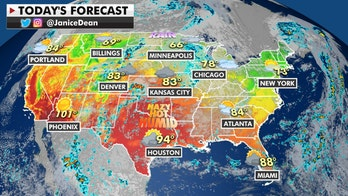 Northeast, Mid-Atlantic see calmer weather; potential flooding in Central US, Midwest