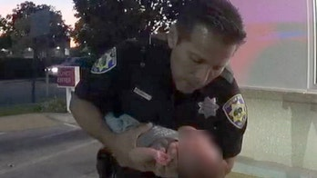 California officer springs into action to save baby at In-N-Out Burger