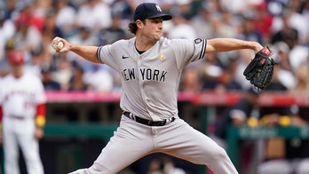 Gerrit Cole fans 15, Yankees beat Angels 4-1 to end skid