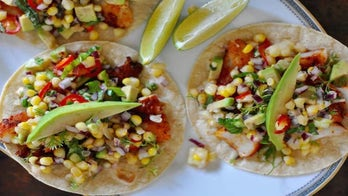 Grilled fish tacos with sweet corn salsa: Try the recipe
