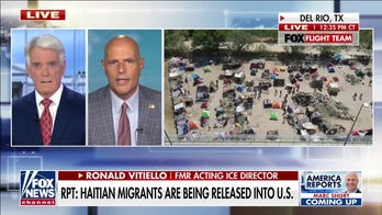 Ron Vitiello says images from Del Rio should disturb all Americans: 'Never seen anything like it'