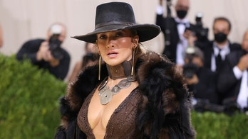 Jennifer Lopez wows at Met Gala 2021 with Western-inspired look