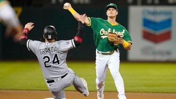 Chapman homers, Montas shuts down White Sox as A's end skid